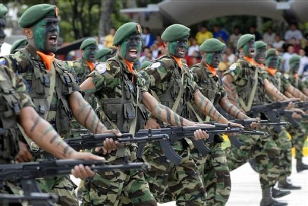 fuerzas militares mas fuertes la
