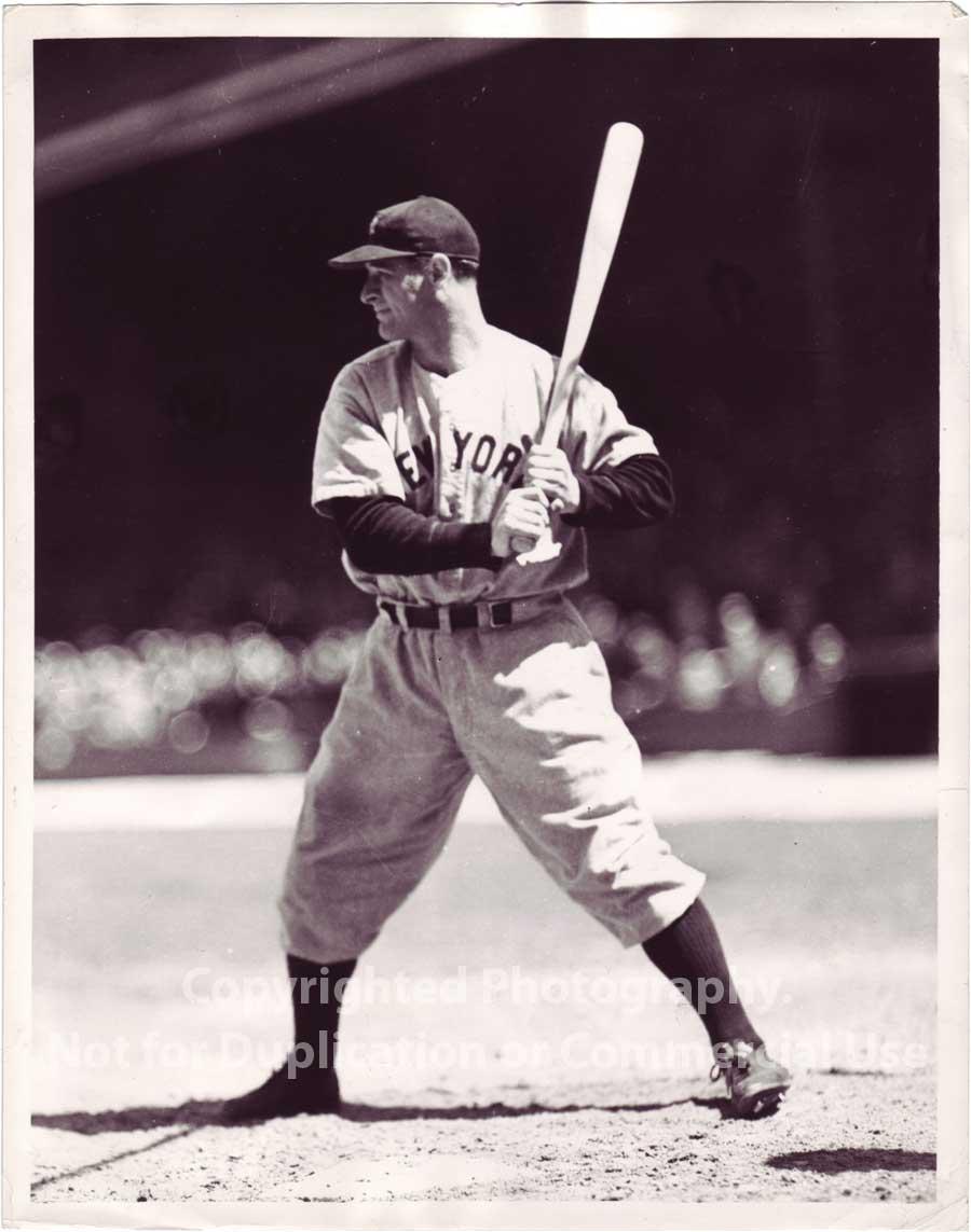 Claro que ser el cuarto bate de los Yankees y pasar desapercibido era ... Babe Ruth Yankees