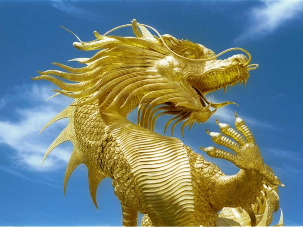 gold dragons wallpaper - photo #38