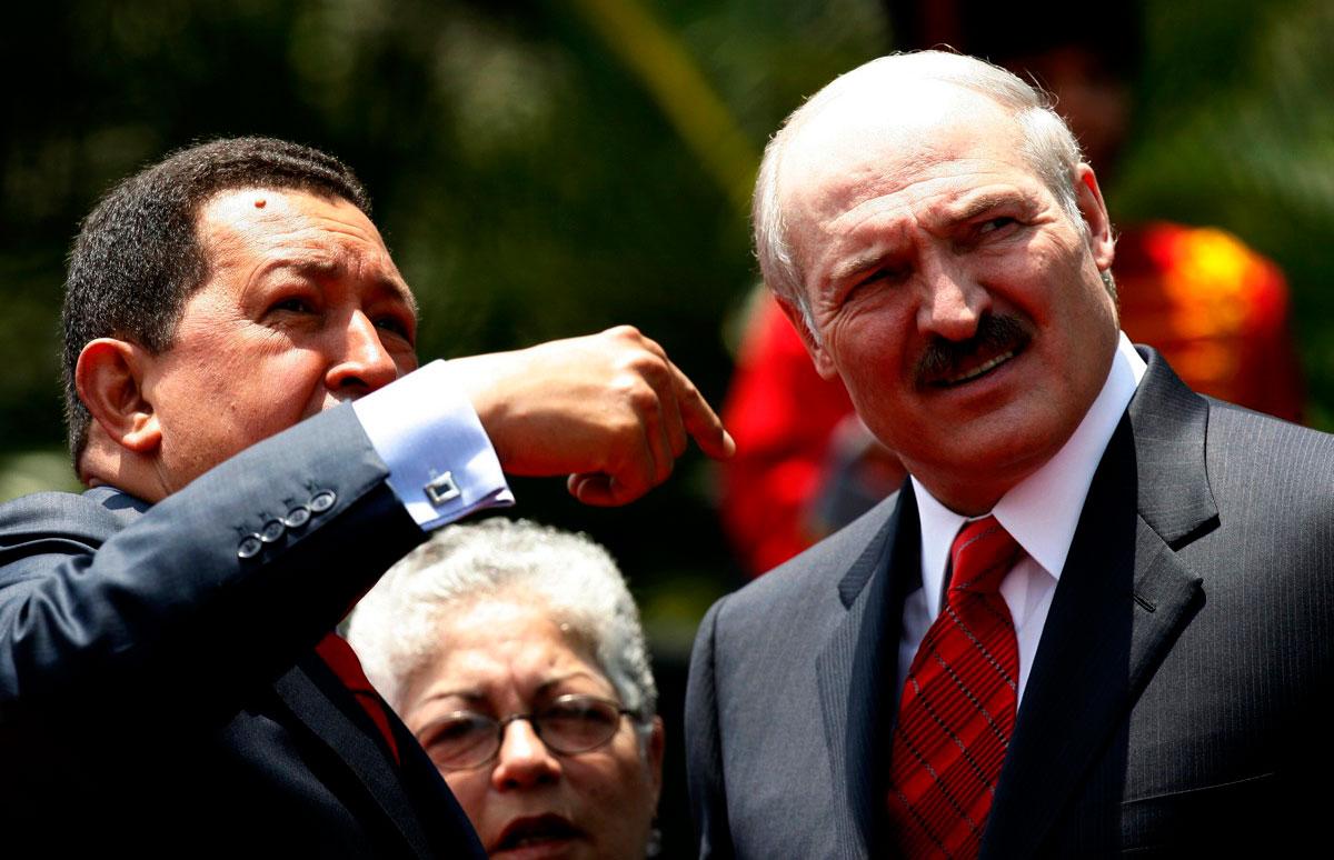 Afloran negocios sucios de Lukashenko y socios con Venezuela