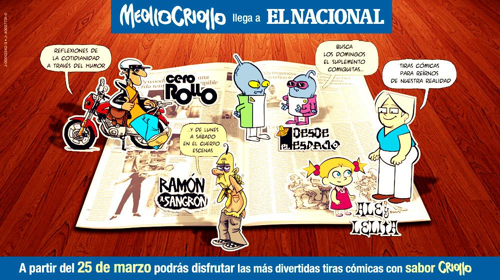 Meollo Criollo ahora también en El Nacional