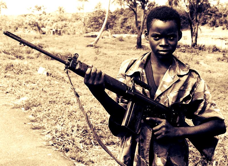 Niños soldados en el Corazón de las Tinieblas por Adriana Boersner