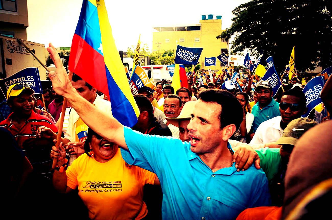 Desalambrando las misiones de Capriles por Alexander Guerrero