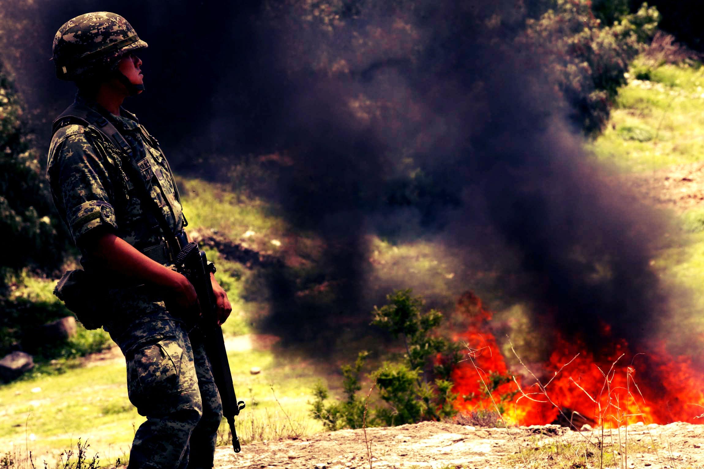 Las Fuerzas Armadas y la Lucha contra el Crimen Organizado en Centroamérica por Leopoldo E. Colmenares G.