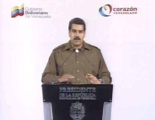 """Maduro anuncia su """"primer equipo de Gobierno"""""""