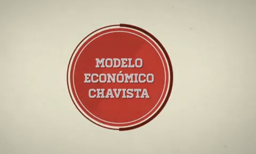 "Entender el inviable ""Modelo Económico Chavista"" con un corto video animado"