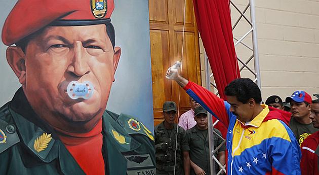 Tetero y chupón: los nuevos enemigos del chavismo por Revista Semana (Colombia) @RevistaSemana
