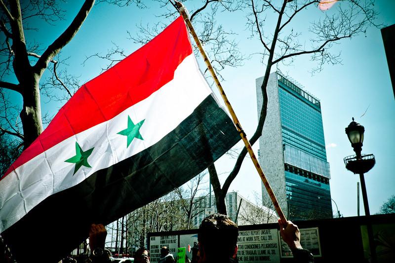 Ataque a la vista en Siria por Kenneth Ramírez