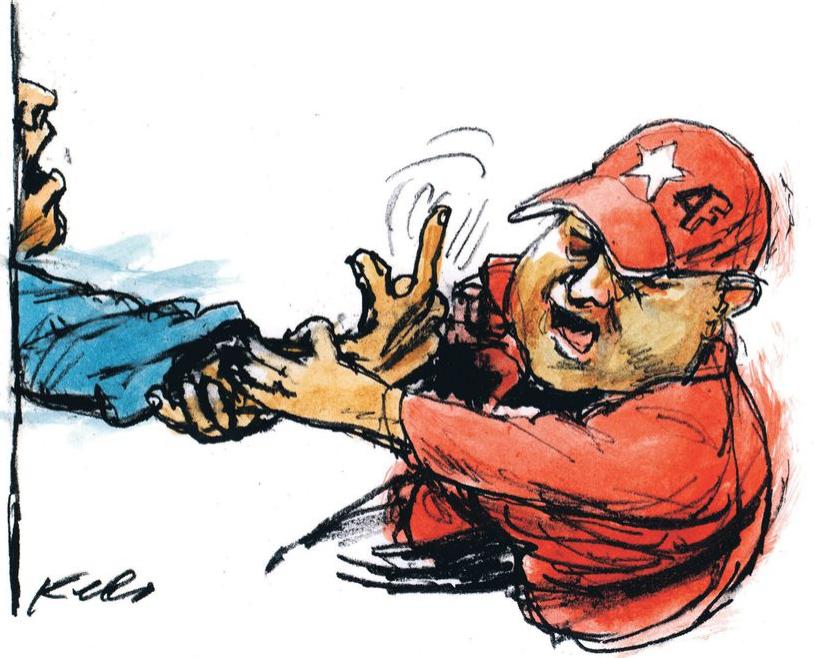 Editorial Tal Cual: La farsa  Habilitante por Teodoro Petkoff @TeodoroPetkoff