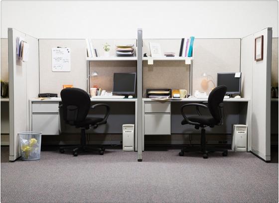 Trabajar en cub culos es malo para la salud y afecta tu for Cubiculos de oficina