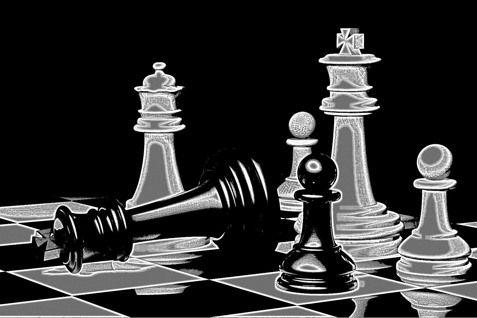 Chess Art Polgar chess art 77