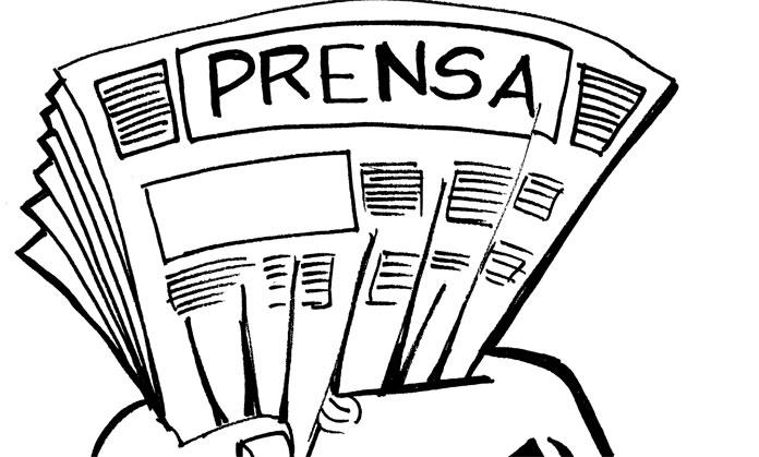 Prensa Autoritaria Por Sergio Ren O Ni  O