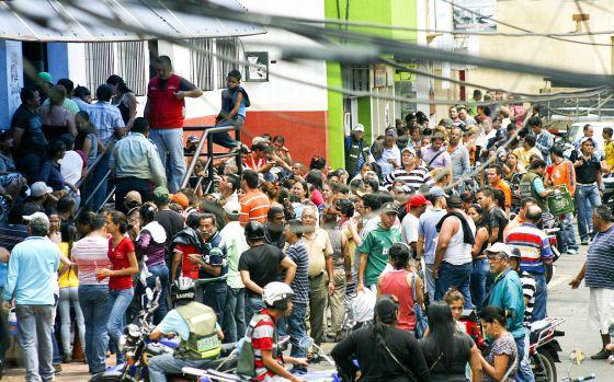 San Cristóbal, Táchira Photo: MIGUEL JORGE CASTELLANOS (EFE)