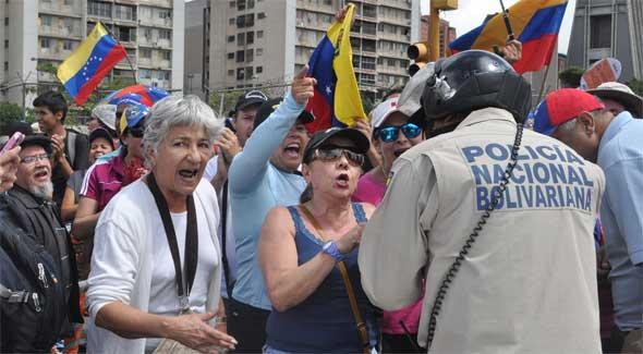 Protestas en Venezuela 2014
