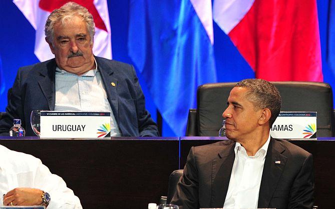 Mujica y Obama