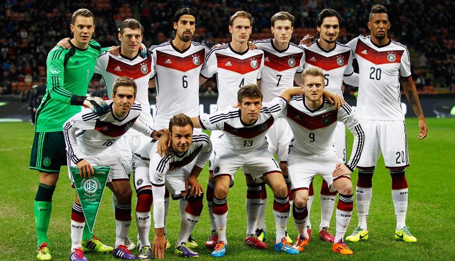 #Alemania tiene la selección más cara del #Mundial de Brasil en valores asegurables