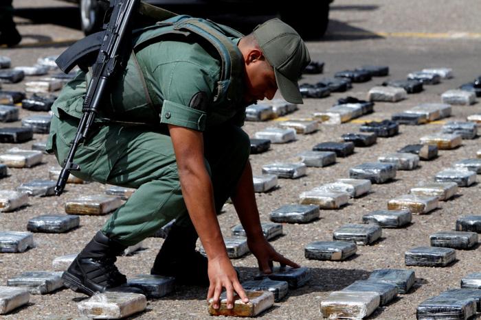 el problema de las drogas en venezuela: