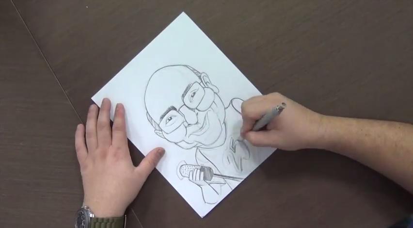 EDO en vivo: En esta oportunidad realiza la caricatura de César Miguel Rondón