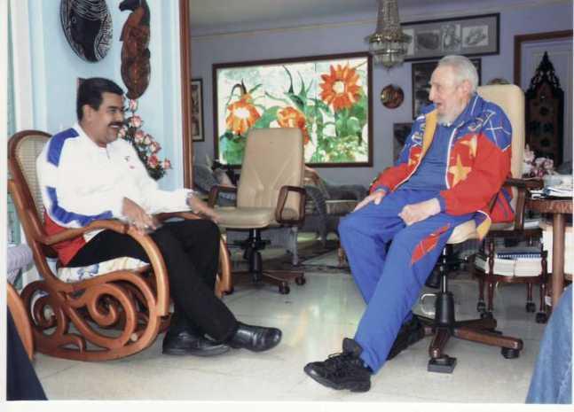 Fidel Castro acusa a los médicos venezolanos de tratar de sabotear la ayuda a Palestina