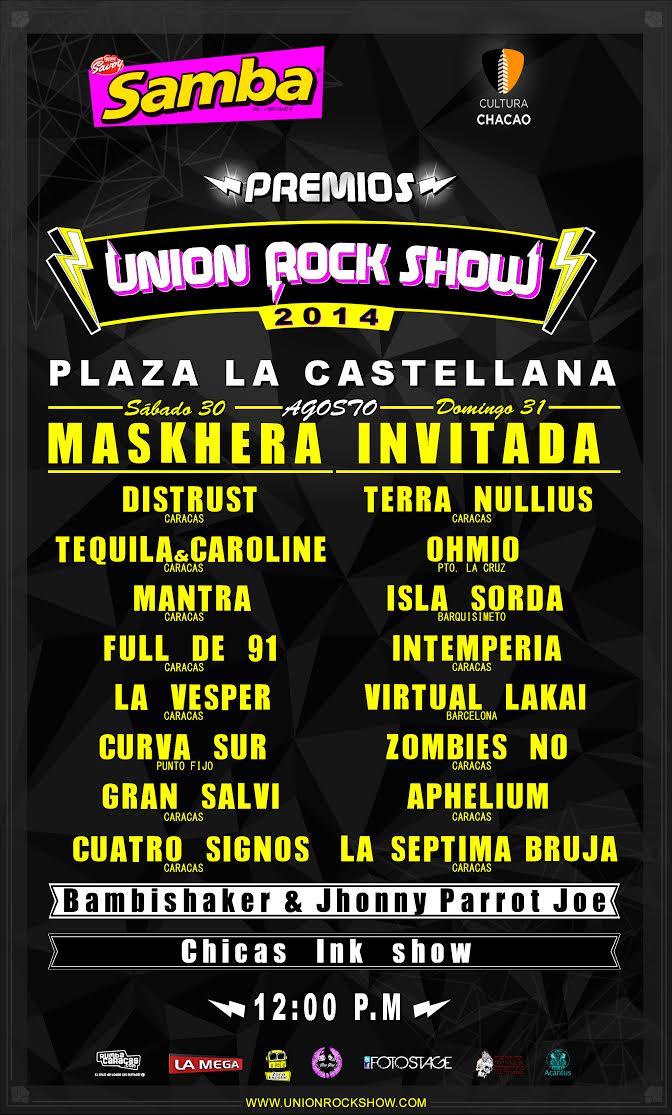 PremiosUniónRockShow2014