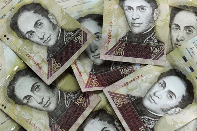 VENEZUELA-THEME-MONEY