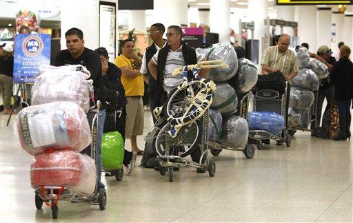 Resultado de imagen para venezolanos mulas en cuba