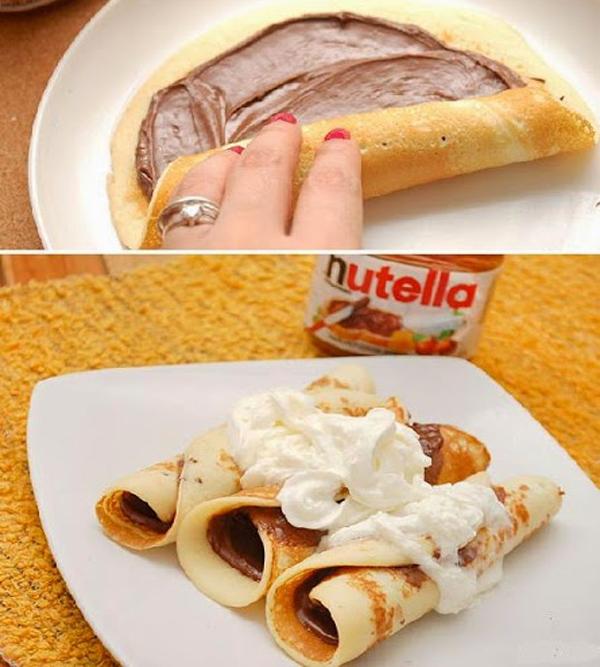 10 recetas de postres hechos con nutella - Postres para impresionar ...