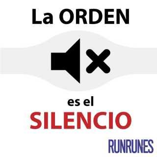 LaOrdenEsElSilencio