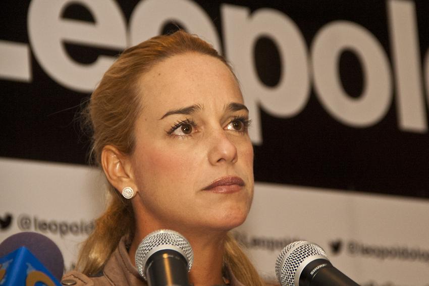 Lilian Tintori anuncia que Leopoldo López cumple 25 días sin comer y sus órganos empiezan a comprometerse