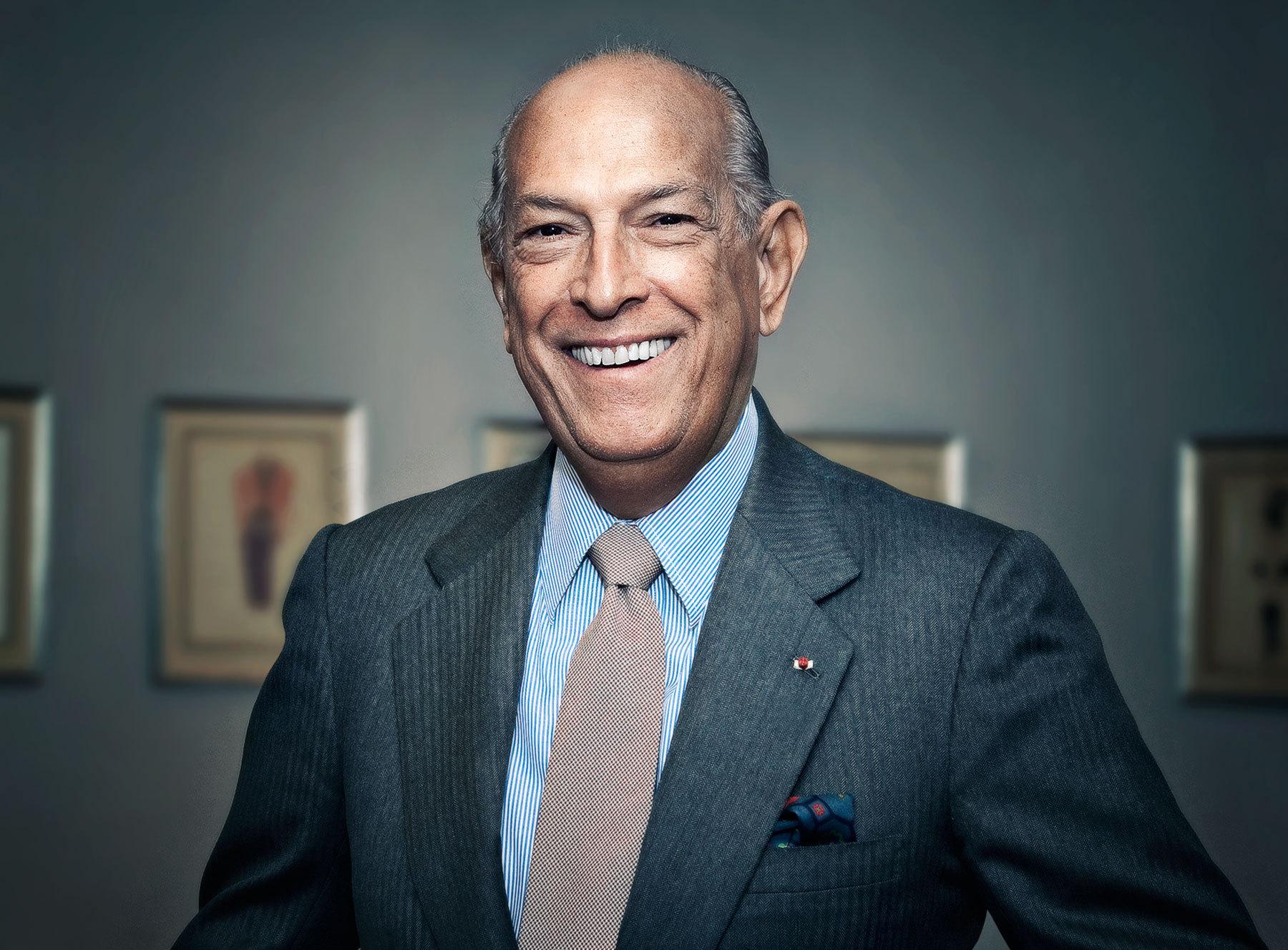 Fallece a los 82 años de edad el diseñador Oscar de la Renta