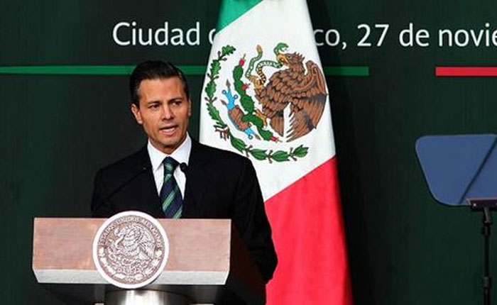 Estas son las diez medidas de Peña Nieto contra las mafias en México