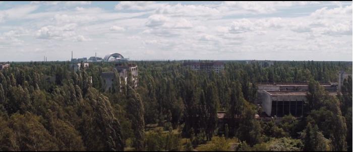 Conoce las ruinas de la ciudad fantasma Prípiat vistas desde un dron