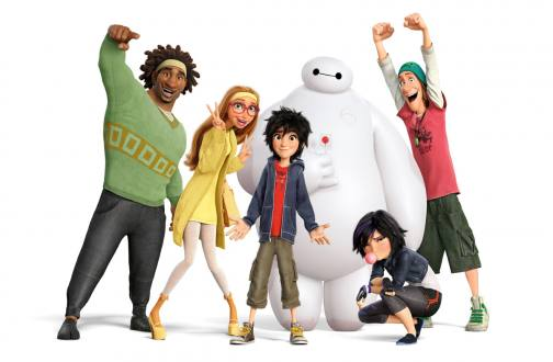 "Disney explota su fusión con Marvel en ""Big Hero 6″"