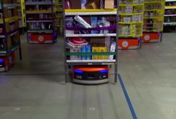 Mira cómo trabajan los miles de robots de Amazon