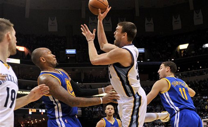 Gasol y Grizzlies frenan a Warriors