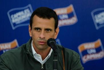 """Capriles: """"Las elecciones no se ganan con rectores, sino con electores"""""""