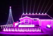 Fanático de Star Wars llevó su pasión a luces navideñas (Video)