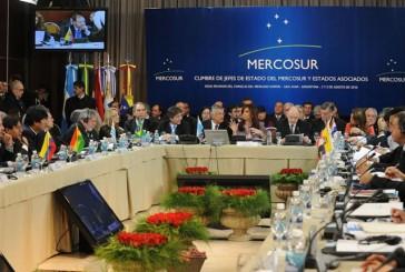 Mercosur pide EEUU no aplicar sanciones contra funcionarios venezolanos