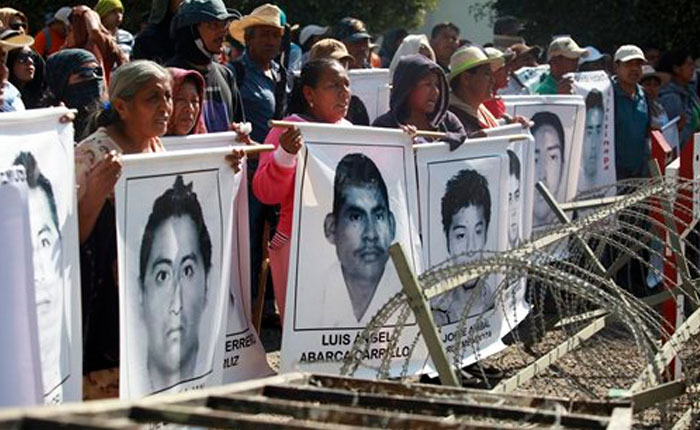 México: no fue posible la identificación genética de los restos de estudiantes desaparecidos