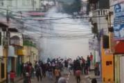 Las imágenes más compartidas en las redes sociales hoy #7E: colas, bombas lacrimógenas y protestas