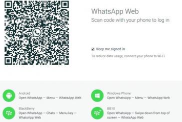 Whatsapp está disponible desde la computadora