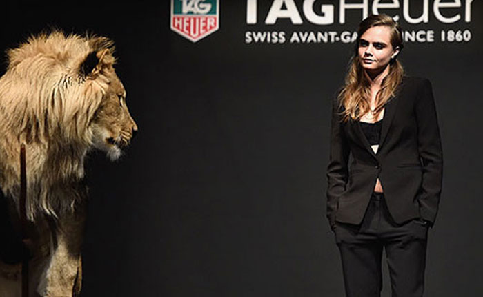 Cara Delevingne es la nueva embajadora femenina de TAG Heuer