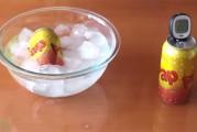 Mira el extraordinario y fácil truco de enfriar una bebida en 2 minutos
