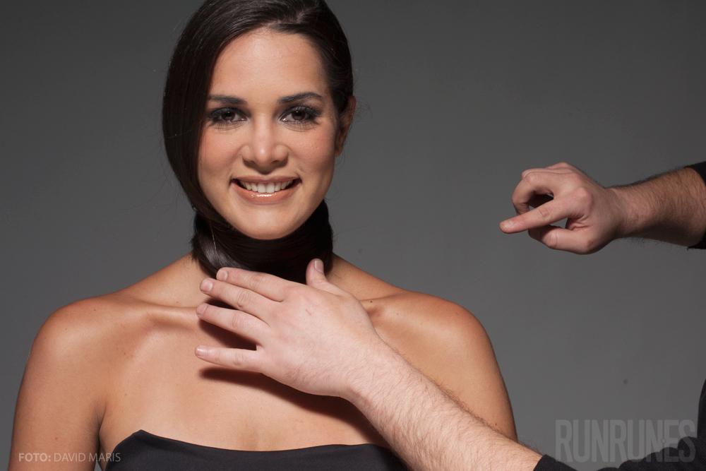 Fotos inéditas: Jugando a retratar a Mónica Spear
