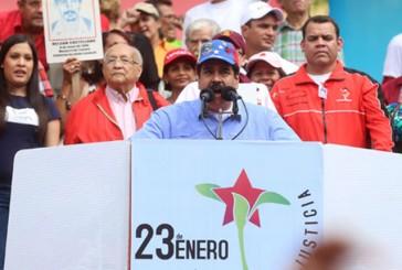 Maduro: Pastrana, Piñera y Calderón vienen a apoyar a grupo golpista