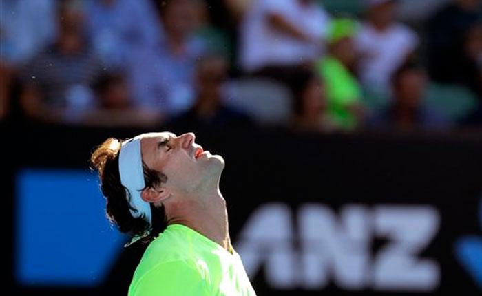 Federer puso fin a su racha de llegar a semifinales del Abierto de Australia