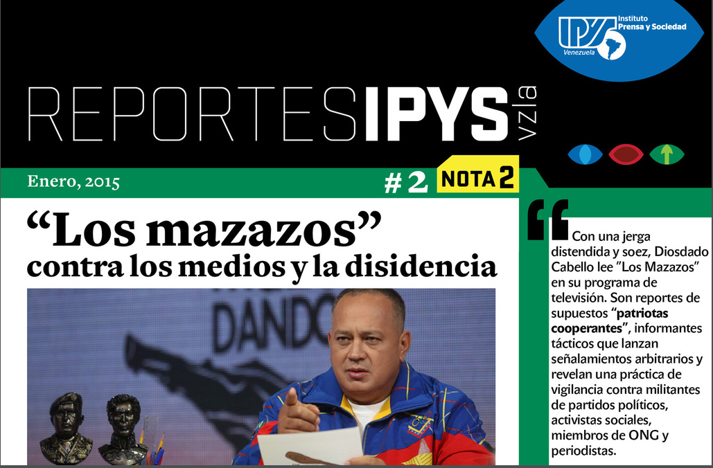 IPYS: Diosdado Cabello criminaliza a medios y trabajadores en su programa