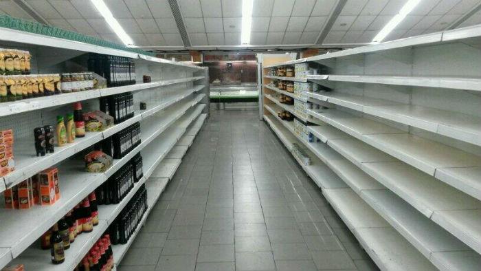 Desaparecieron frutas, legumbres y hortalizas de los supermercados