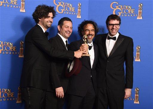 Armando Bo, Alexander Dinelaris Jr., Alejandro Gonzalez Inarritu, Nicolas Giacobone