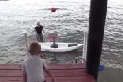 Las habilidades de este niño con la pelota te sorprenderán